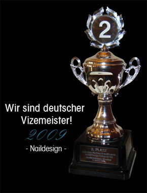 Deutscher Vizemeister 2009 - Naildesign-